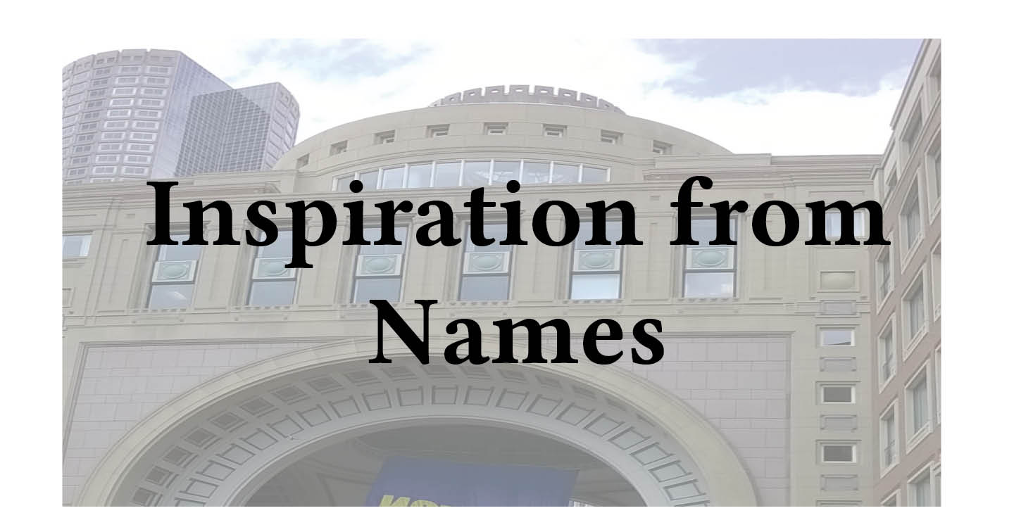 Adventures in Career Changing | Janet Gershen-Siegel | Getting inspiration from names