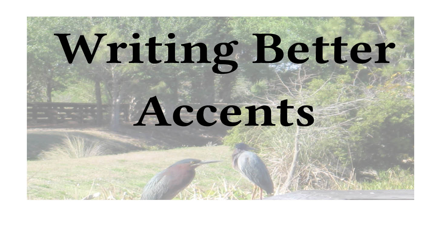 Adventures in Career Changing | Janet Gershen-Siegel | Writing Better Accents