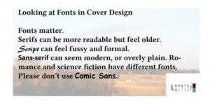 covers cover design fonts