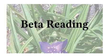 Adventures in Career Changing | Janet Gershen-Siegel | Beta Reading, Part 2