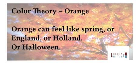 Adventures in Career Changing | Color Theory, Part 2 | Orange