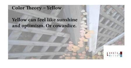 Adventures in Career Changing | Yellow Color Theory, Part 3